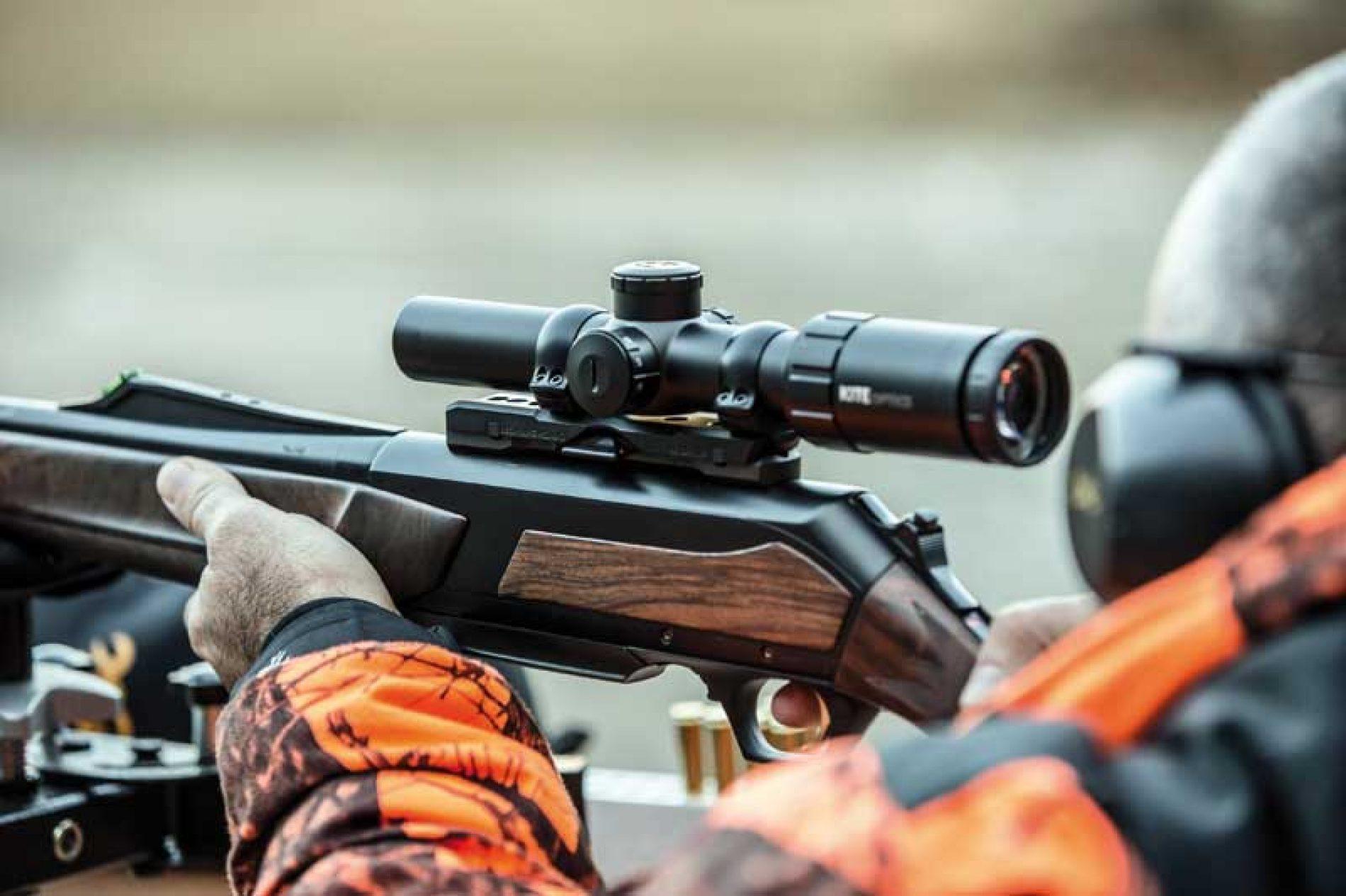 Cómo utilizar uno o más visores en rifles diferentes gracias a las monturas Browning Nomad