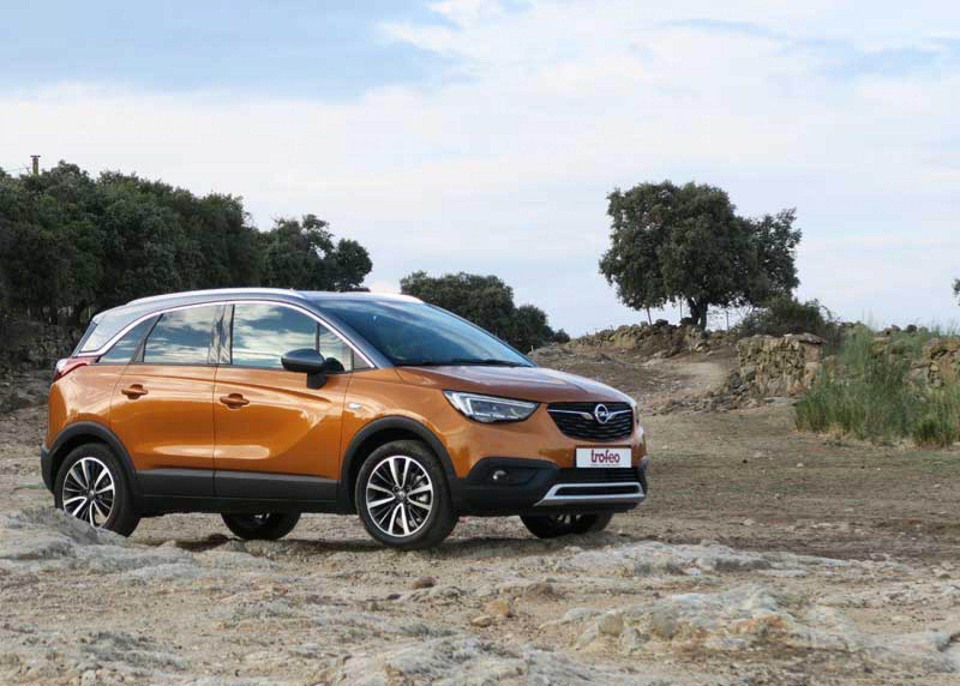 El coche de los jóvenes cazadores, Opel Crossland X