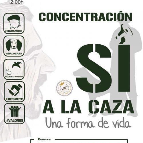"""Reivindica """"La caza como forma de vida"""", concentración de cazadores el 15 de abril"""