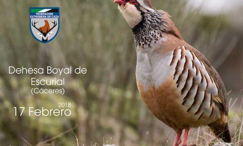 Campeonato de Extremadura de Perdiz con Reclamo el 17 de febrero