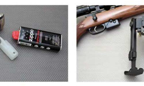 Calentador Zippo y bípode Bat Vision, dos novedades para tirar o cazar