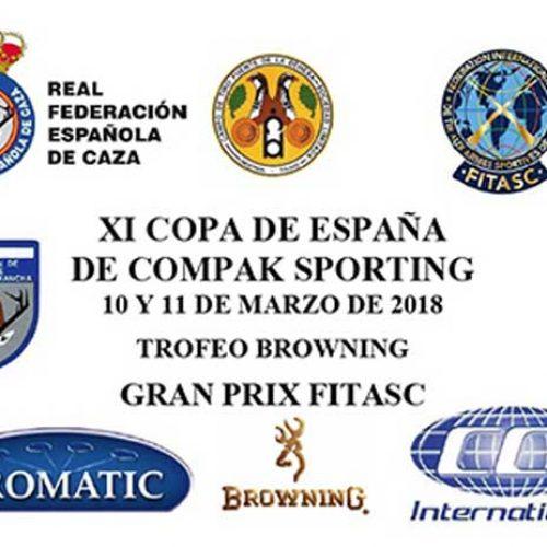 Abierta la inscripción para la XI Copa de España de Compak Sporting
