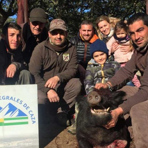 Servicios Integrales de caza, puso el broche final a su temporada montera en Bacinete