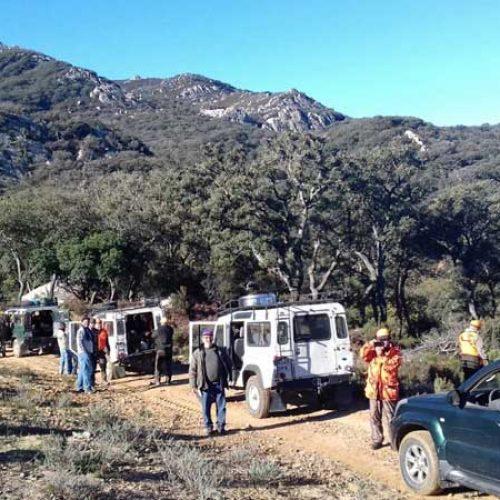 22 monteros felices en la montería Pantano La Hoya