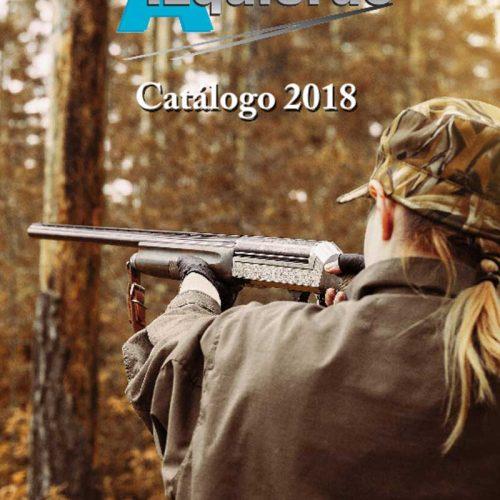 Catálogo 2018 de Armería Izquierdo más de 100 páginas de armas, munición y complementos