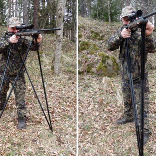 Probamos el apoyo Viper-Flex Basic, para caza estática o en movimiento