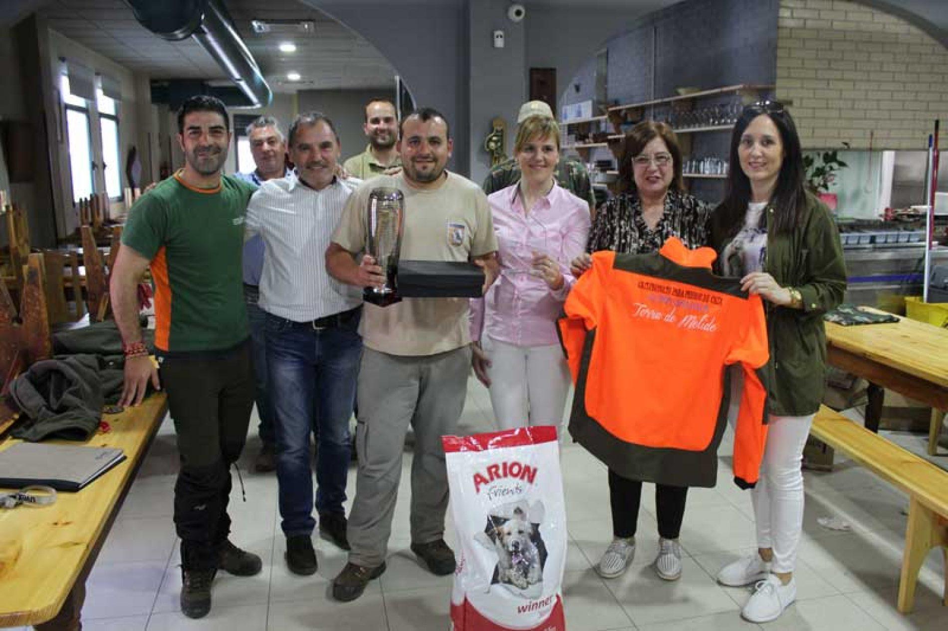 Iván Aragunde vencedor de la V Copa de España de Rastro sobre Conejo