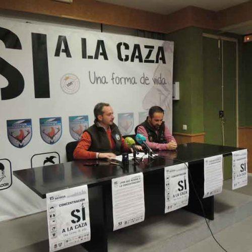 """Miles de cazadores extremeños el domingo 15 defenderán """"una forma de vida"""""""