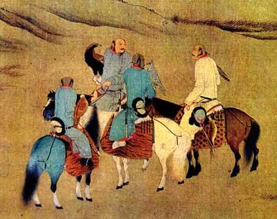 cetreria-caza-aguilas-reales-pintura