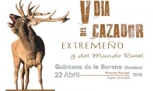 Quintana de la Serena acoge el domingo 22 el V Día del Cazador Extremeño