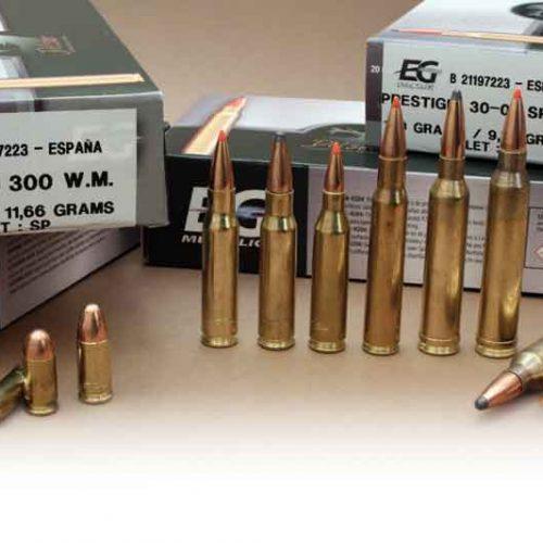 Nueva gama de munición metálica fabricada en España, EG Metallic Prestigio