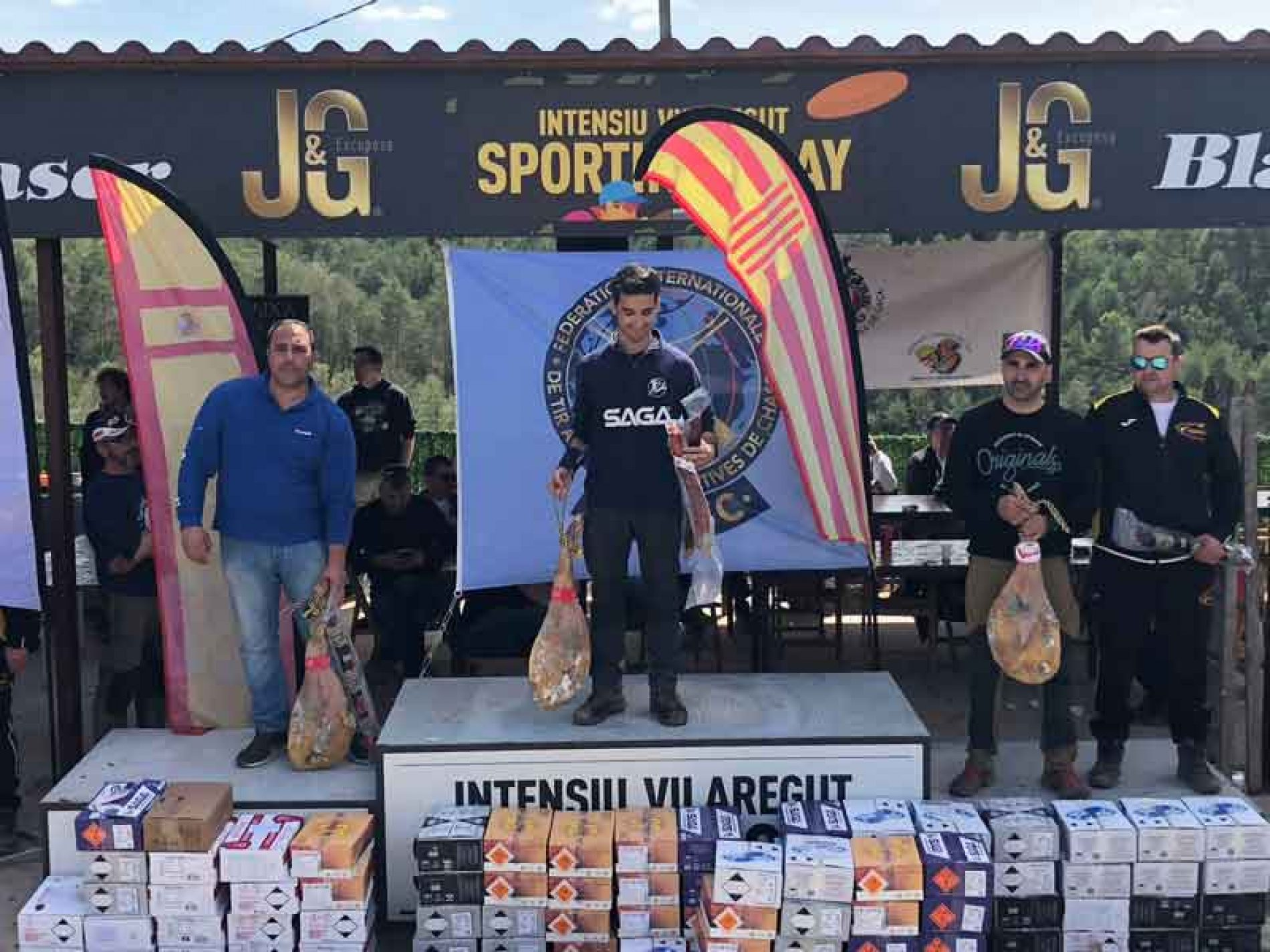 Diego Martínez ganador del Grand Prix FITASC de España de Recorridos de Caza