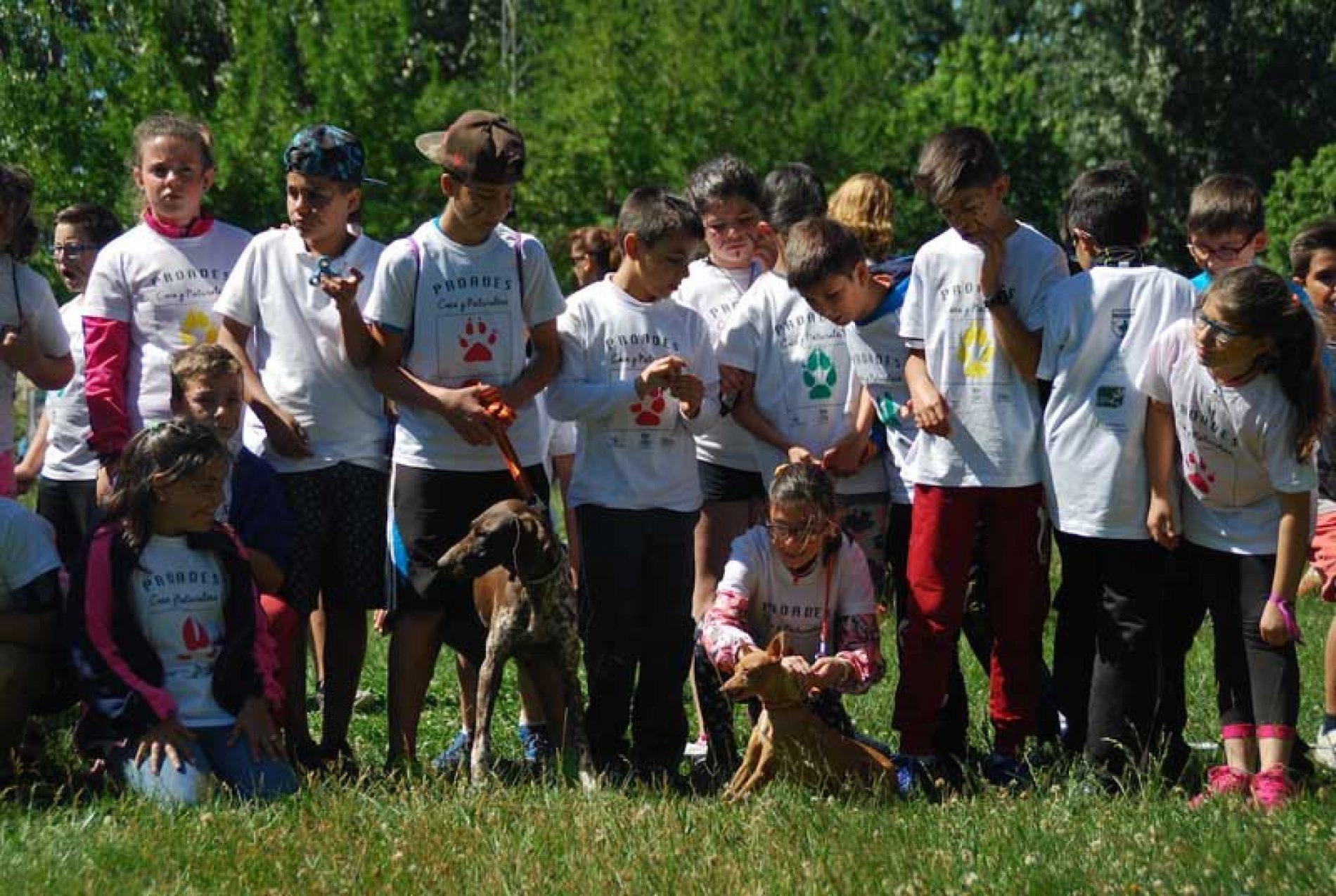 270 escolares participan en los Encuentros del proyecto Caza y Naturaleza
