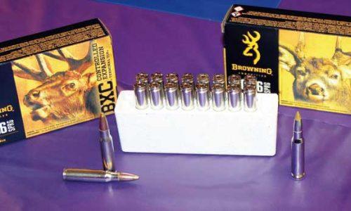 Nuevos cartuchos Browning BX, BXR para rececho, BXC esperas y monterías