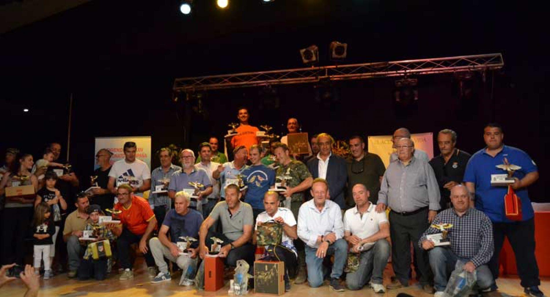 266 aves en el XXIV Campeonato de España de Silvestrismo
