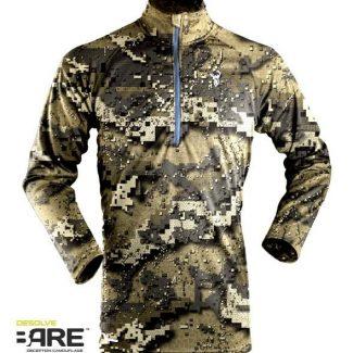 Camiseta Prime Summer LS Zip (color VEIL)