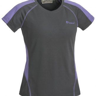 Camiseta Sra. Pinewood Active (Gris/Lavanda)