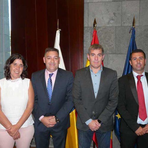 La ACEC se reúne con el Presidente del Gobierno de Canarias