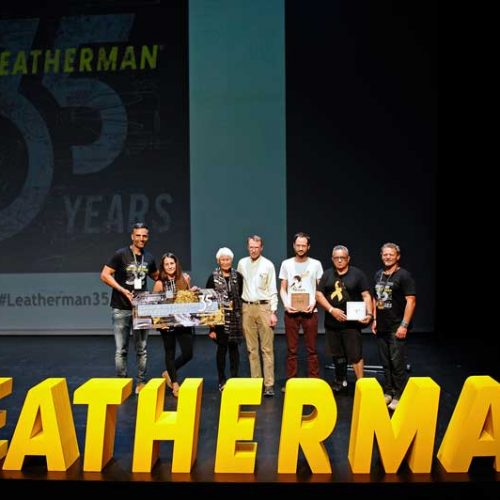 Leatherman celebra su 35º aniversario en Barcelona con 300 personas