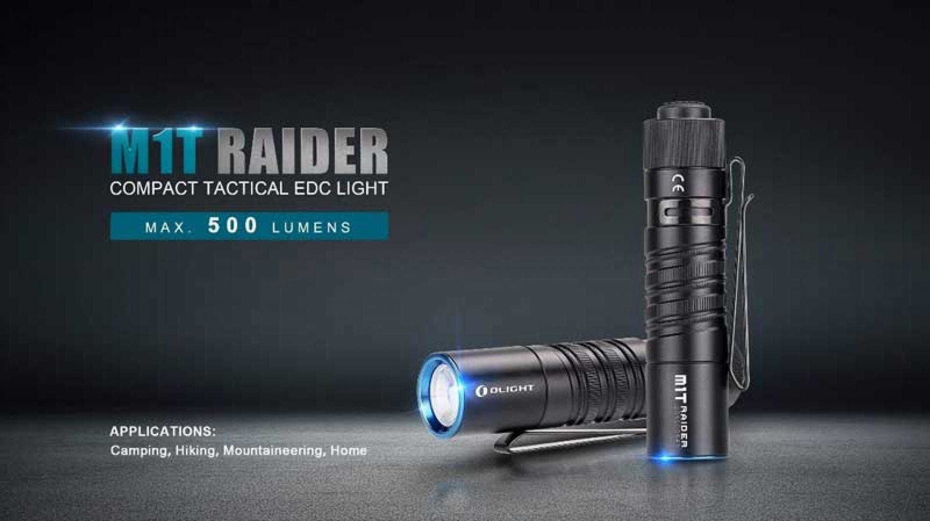 Linterna M1T Raider, para cualquier actividad al aire libre