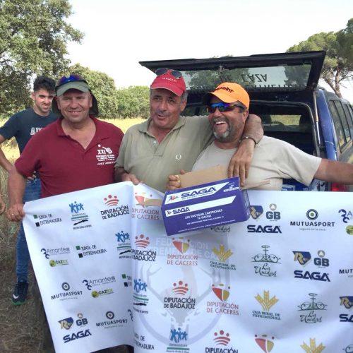 Celestino Villarino se proclama campeón de Extremadura de Recorridos de Caza