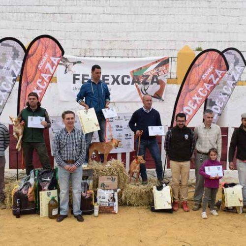 Manuel Casas Barragán se impone en el Campeonato de Extremadura de Podencos