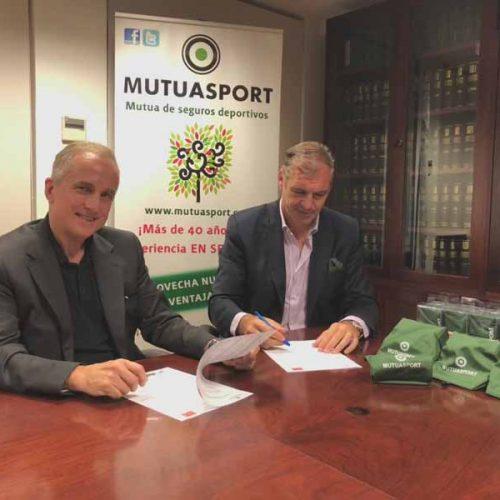 Mutuasport y Recovain firman un convenio a favor del Medio Ambiente