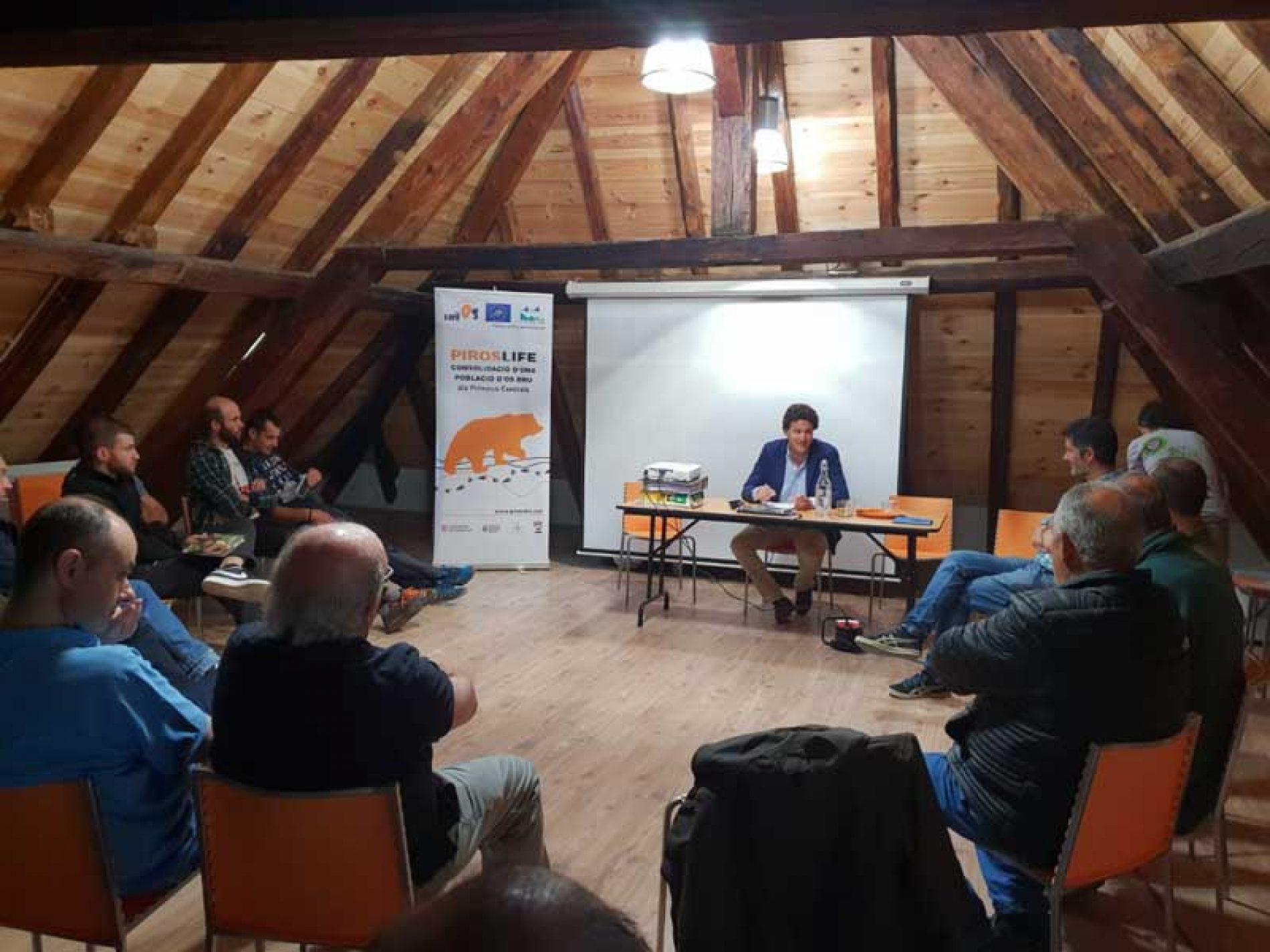 La RFEC apoya el oso en el Pirineo si es compatible con los demás usos del monte