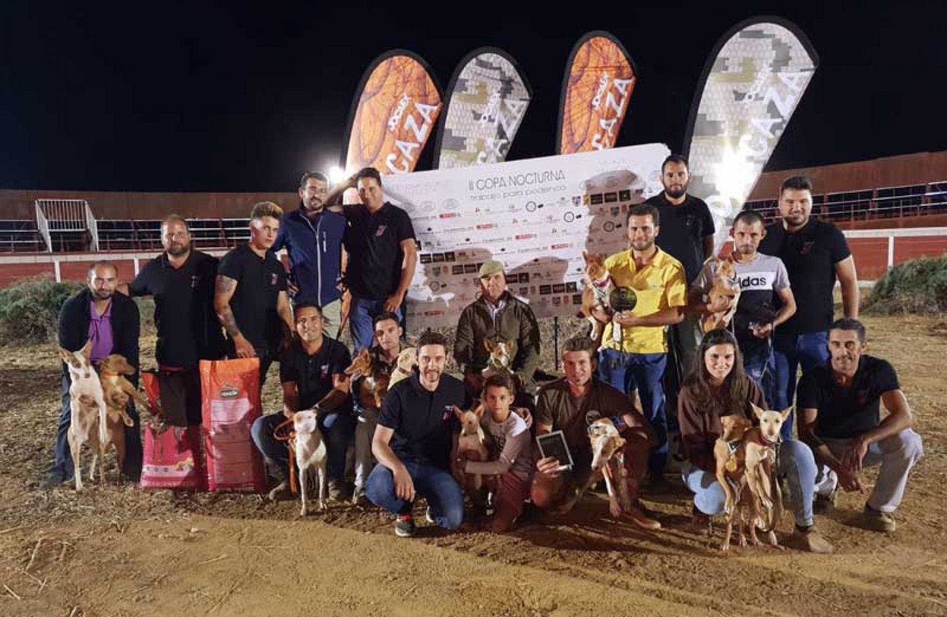 80 Podencos si disputaron la II Copa Nocturna de Trabajo