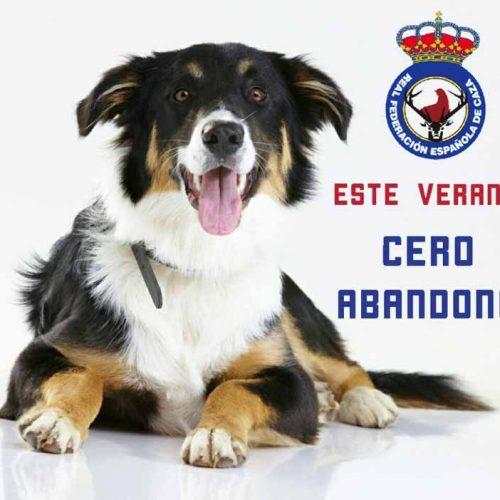 La RFEC lanza la campaña #CeroAbandono
