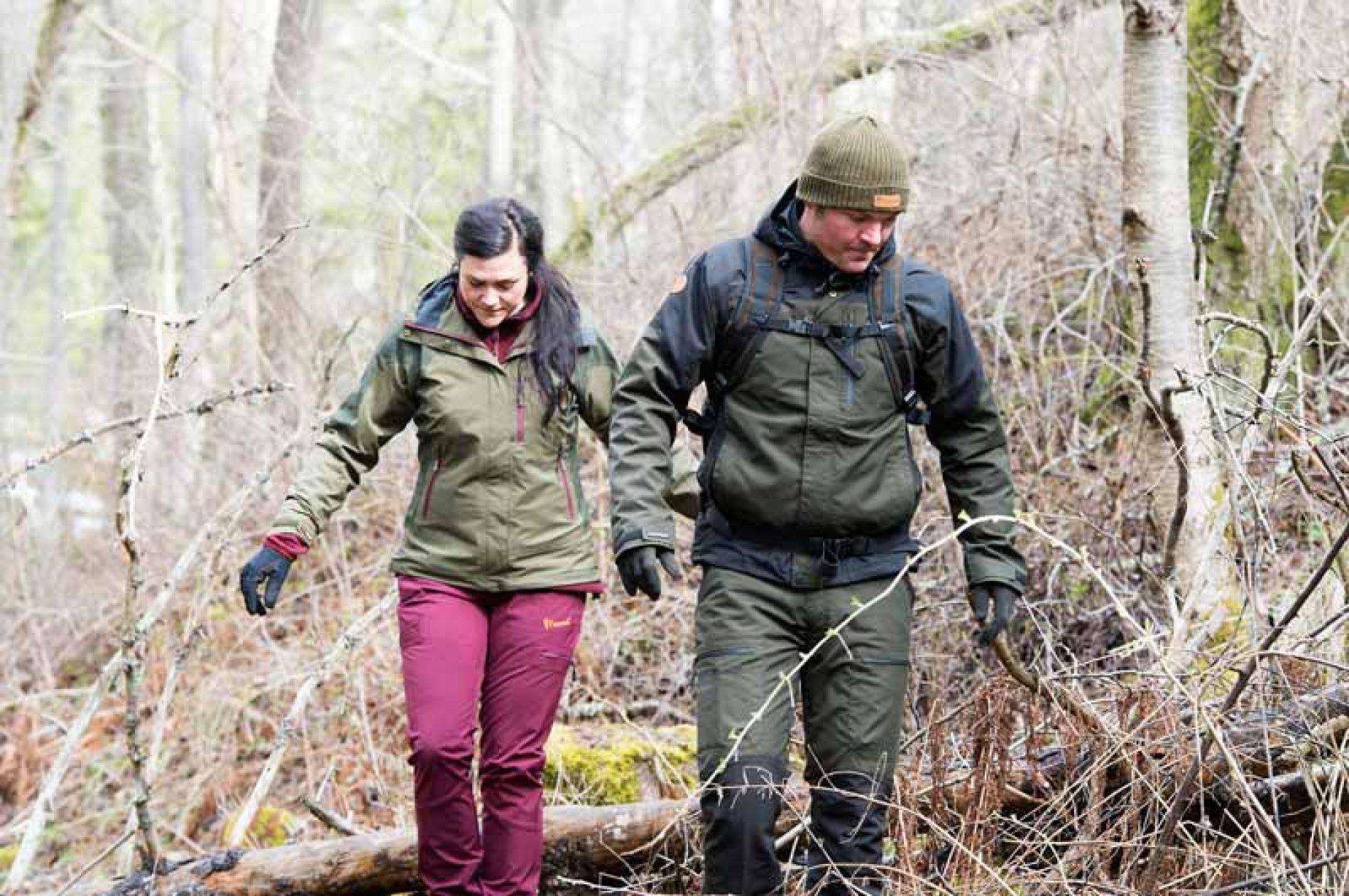 LLega a España Pinewood, ropa técnica para los amantes del campo y la caza