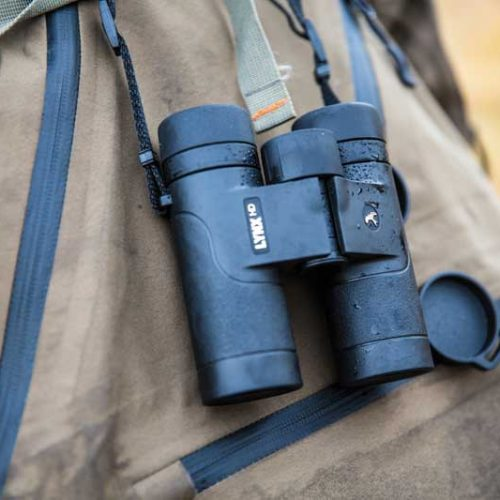 Probando los prismáticos Kite Lynx HD 10X30