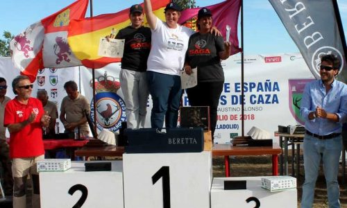 Diego Martínez y Beatriz Laparra campeones de España de Recorridos de Caza