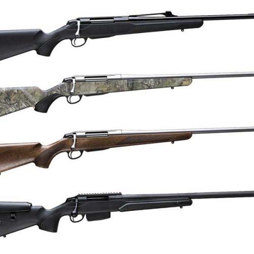 Las 15 versiones del Rifle Tikka T3x