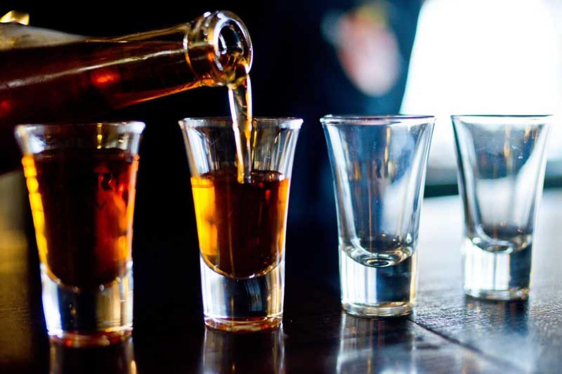 El alcohol y la caza no son buenos compañeros