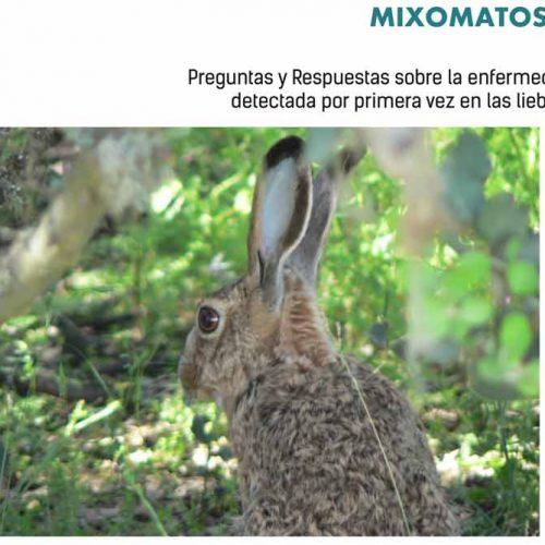 Artemisan elabora un folleto informativo sobre la mixomatosis