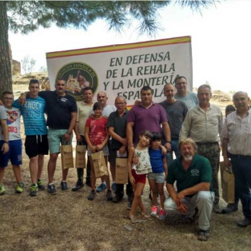 Gran éxito de la concentración de rehalas celebrada en Alcaraz