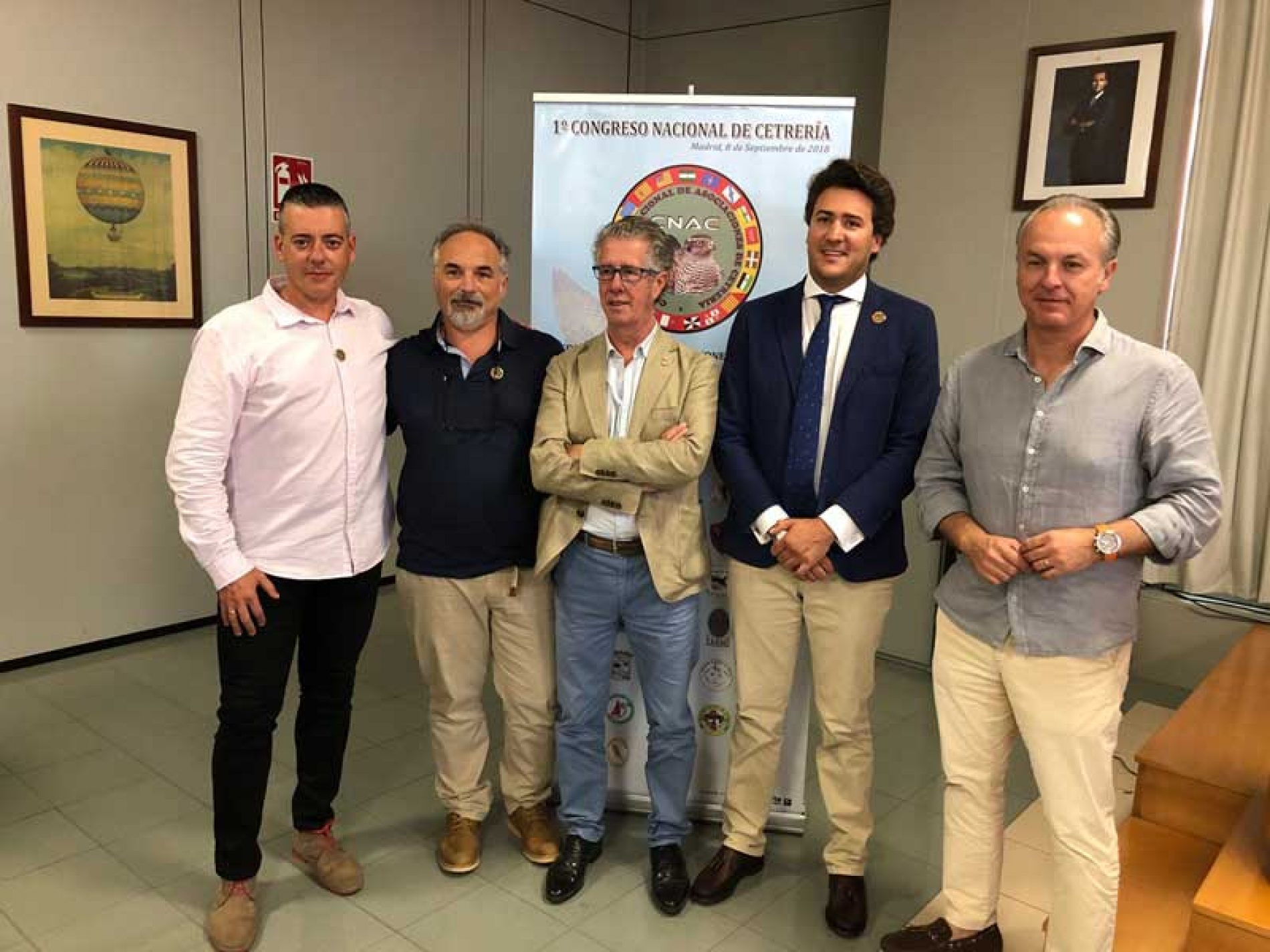La RFEC reafirma su compromiso con la cetrería