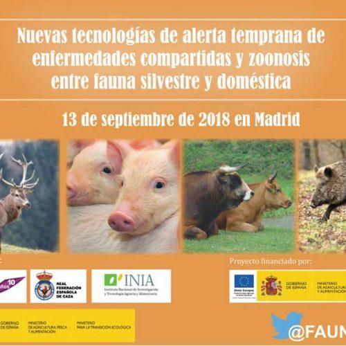"""Jornada 'Nuevas tecnologías de alerta temprana de enfermedades de animales"""""""
