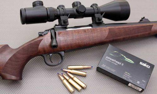 Prueba del nuevo rifle Sichling By Europearms