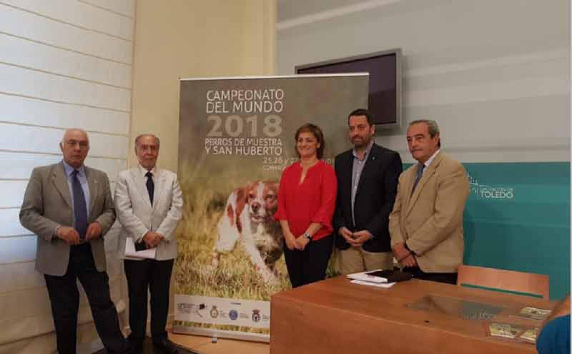 Presentación del Campeonato del Mundo de Perros de Muestra y San Huberto