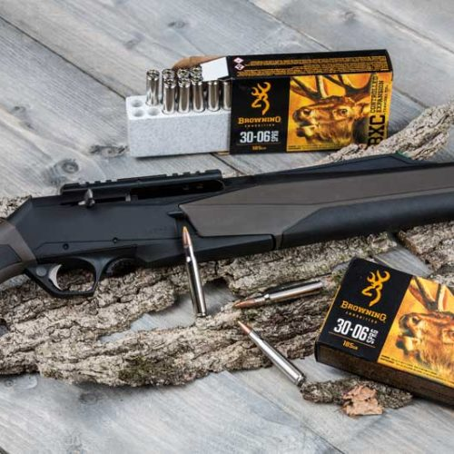 Probando las novedades en rifles y escopetas de Browning a mil tiros por hora