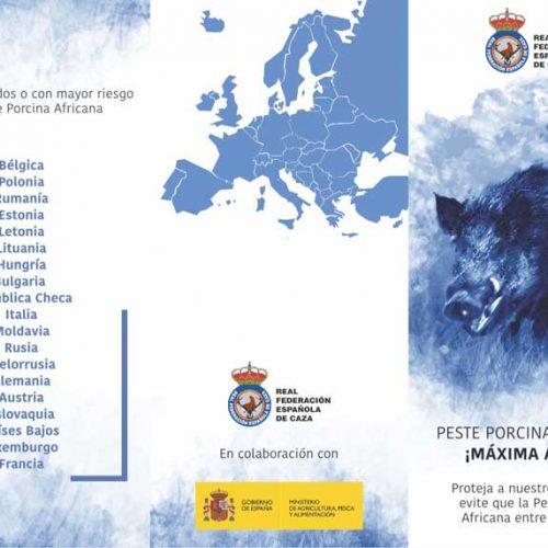 Los cazadores se implican en poner freno a la entrada de la PPA en España
