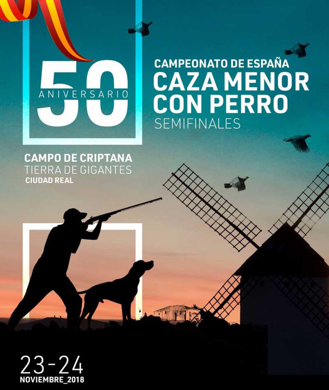 L Campeonato de España de Caza Menor con Perro
