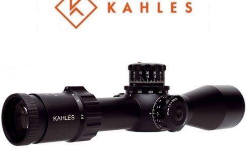 Nuevos visores KAHLES para larga distancia, K525i y K318i