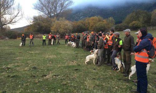 Lucas Arribas Campeón de Castilla y León de Caza Menor con Perro por 2ª vez
