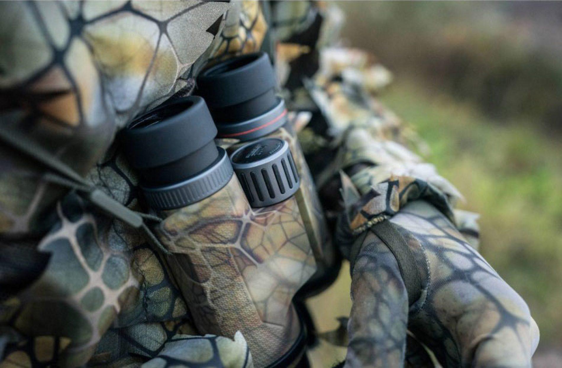 Prismáticos Solognac 900 Sigilo, concebidos para la caza mayor a rececho