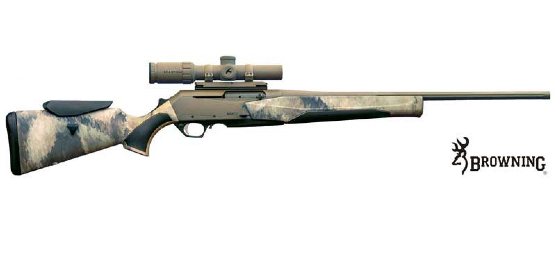 Nuevo rifle semiautomático Bar mk3 Atacs Combo