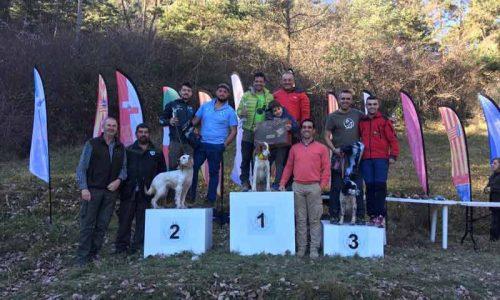 Isaac Morales, ganador del XXVIII Campeonato de España de Caza de Becadas
