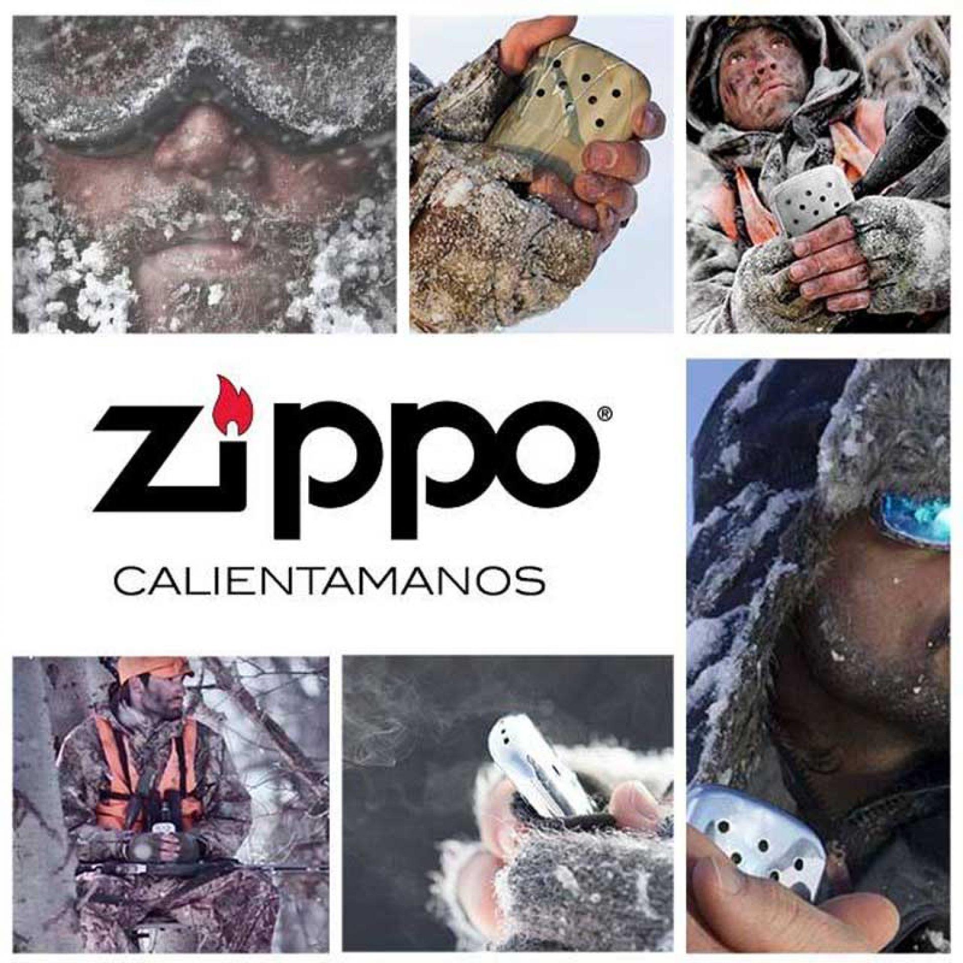 Calentador de manos Zippo. Ande yo caliente…